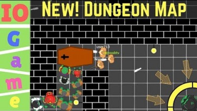 PLAY BRAAINS.IO ► TAKE A LOOK! / NEW! DUNGEON MAP - braains.io game