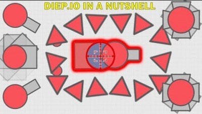 Playing Diep.io in 2019 (Diep.io in a Nutshell)