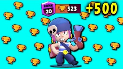 PLAYING PENNY NONSTOP to 500 Trophies! // Brawl Stars Wins & Fails