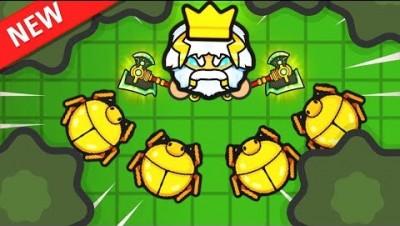 Playing ZombsRoyale.io as GOD