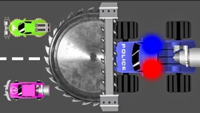 Полицейская Машина УБИЙЦА! NitroDrift.io Новая io Игра