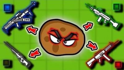 POTATO MASTER VS RAREST WEAPONS! | Surviv.io Potato Update Highlights & Funny Moments