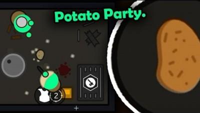 POTATO PARTY LIVESTREAM! | SURVIV.IO | Solo and Squads Maybe idk