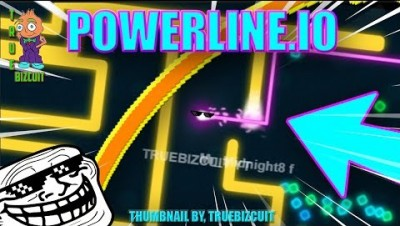 POWERLINE.IO - HOW TO DESTROY PLAYERS IN POWERLINEIO [FUNNY PRO MOMENTS] PLAYING AS JUMBO AND MYSELF