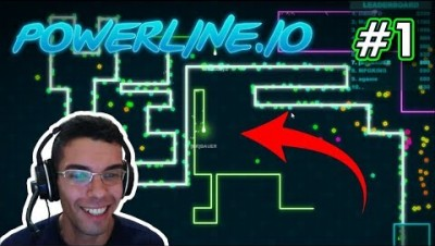 Powerline.io - MINHOCAS QUADRADAS - Gameplay #1