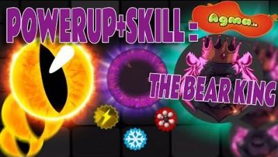 POWERUPS + SKILL = *The Bear King* | AGMA.IO