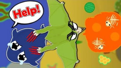 Pterodactyl TROLLED ME SO BAD!   Mope.io Best Trolls and Funny Moments