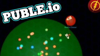 Puble.io NEW .IO GAME! Killing a Giant Bubble Boats!