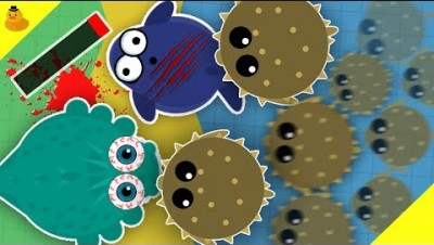 PUFFERFISH ARMY TROLL ALL SEA ANIMALS! (Funny Moments Mope.io)