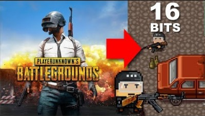 PUGB - BATTLEGROUNDS EM 16 BITS - Bruh.io - Gameplay #1