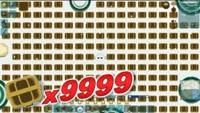 PUT 9999 CHESTS WORLD RECORD | Starve.io
