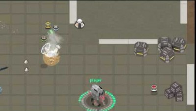 Raligun for browser based multiplayer mech shooter