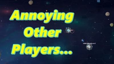 Ramming & Annoying Larger Players Astroe IO