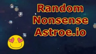 Random Nonsense Astroe.io Game Play (Free for All)