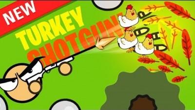 *RARE* CRAZY TURKEY GUN in Surviv.io
