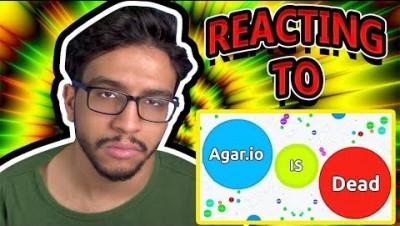 REACTING TO AGAR.IO IS DEAD! (Jumbo)