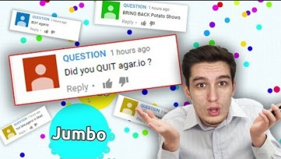 READING COMMENTS on ''Why Agar.io is Dead'' !!