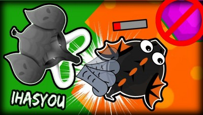 RIP DRAGONS  -  MOPE.IO FUNNY ELEPHANT TROLLING NEW HD SKIN!!