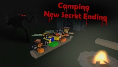 ROBLOX CAMPING NEW SECRET ENDING! |WIN AND MAKE IT OUT ALIVE!?