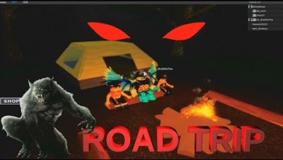 ROBLOX ROAD TRIP | ENDING AND WALKTHROUGH | CAMPING PART 14 ?