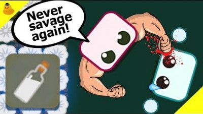 SAVAGE IS KILLED BY *NEW* GARLIC DRUG BOTTLE IN STARVE.IO!