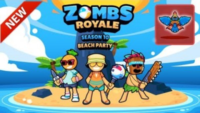 SEASON 10: BEACH PARTY - Zombsroyale.io Battle Royale