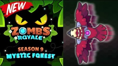 SEASON 9 MYTHIC FOREST - Battle Pass First Look! | Zombsroyale.io Battle Royale