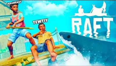 SHARK SURVIVAL SIMULATOR - RAFT SURVIVAL w/ Tewtiy #2