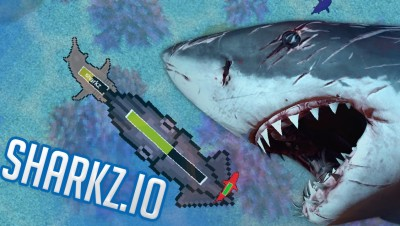 Sharkz.io - Becoming King of the Deep! - Shark Combat Game - Sharkz.io Gameplay Highlights