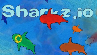 Sharkz.io - Ocean's Biggest Shark! - Sharkz.io Gameplay - Brand New .IO Game