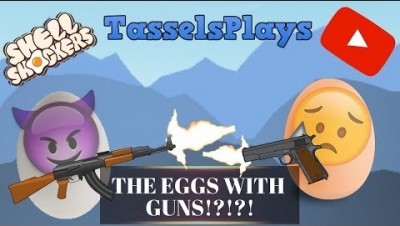 Shellshockers.io: THE EGGS WITH GUNS