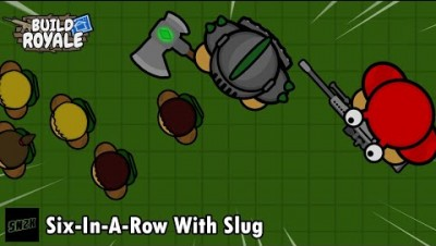 Six-In-A-Row With Slug || BuildRoyale.io