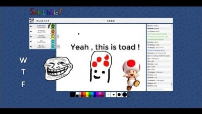 Skribbl.io // New .io funny game ! //4K QUALITY :O