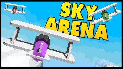 SkyArena.io - Plane Falls To Ground After Man Goes On Rampage! [Let's Play Skyarena.io Gameplay]