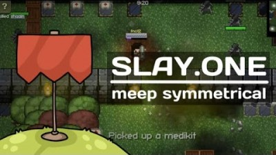 "Slay.one [Capture the flag] Meep symmetrical Замес против ""точки"""