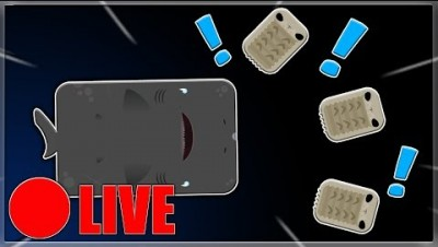 Sleeper Shark Gameplay Live  Deeeeo,io New Update (Asset Pack)