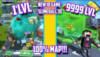 SLIMEBALL.IO WORLD RECORD - TIPS TRICKS & STRATEGY! NEW IO GAME! | GAME LIKE HOLE.IO [EATS 100% MAP]