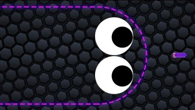 Slither.io 001 Lucky Giant Snake vs.001 Tiny Snake Epic Slitherio Best Gameplay!