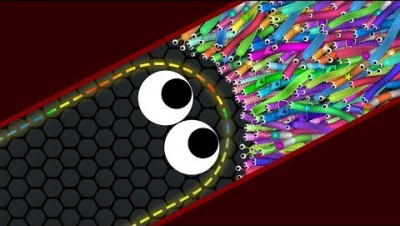 Slither.io 001 Strong Bad Snake Skin Hacked vs. 72227 Snakes Epic Slitherio Gameplay! #5