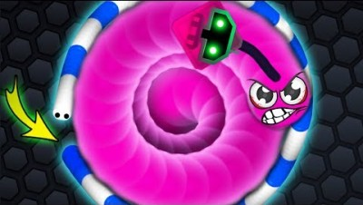 Slither.io - 500% LUCKY SNAKE TRAP! // Epic Slitherio Gameplay (Slitherio Funny Moments)