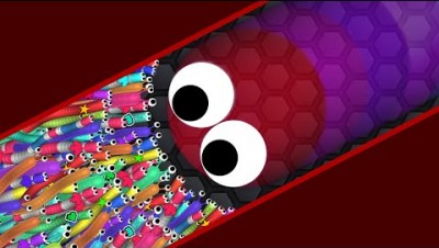 Slither.io A.I. 110,000+ Score Epic Slitherio Best Gameplay! #25