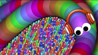 Slither.io A.I. 125,000+ Score Epic Slitherio Best Gameplay! #17 (Include Codes)