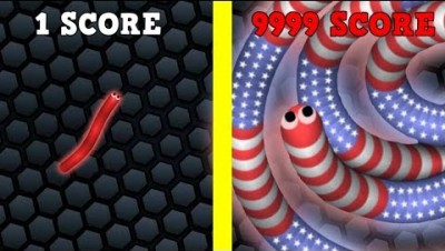 SLITHER.IO EVOLUTION MAX SCORE! NOOB VS PRO IN SLITHER.IO (Slither.io New Update)