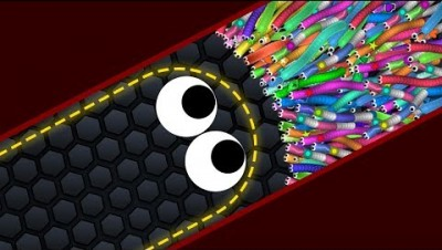 Slither.io Lucky Giant Snake vs 727227 Snakes Epic Slitherio Best Gameplay! #3