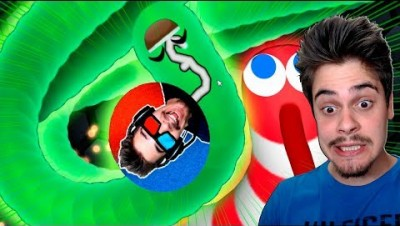 Slither.io - MINHOCA PRO vs NOOBS  ‹ AbooT ›