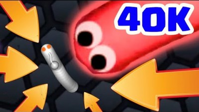 SLITHER.IO TAKEDOWN 40K+ GAMEPLAY - Slitherio Best Moments Montage