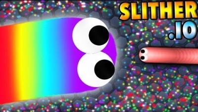 Slither.io/Slitherio Funny Moments/Игра змейка/ Слизарио/