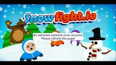 SNOWFIGHT.IO GUERRA NA NEVE.