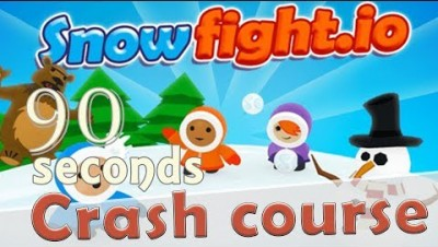 ✔ Snowfight.io in 90 seconds! ( Tip & Tricks included ) | #Random.io Crash Course 23 | Snowfightio