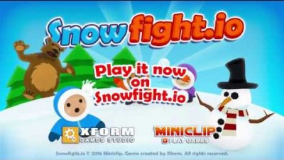 Snowfight.io trailer